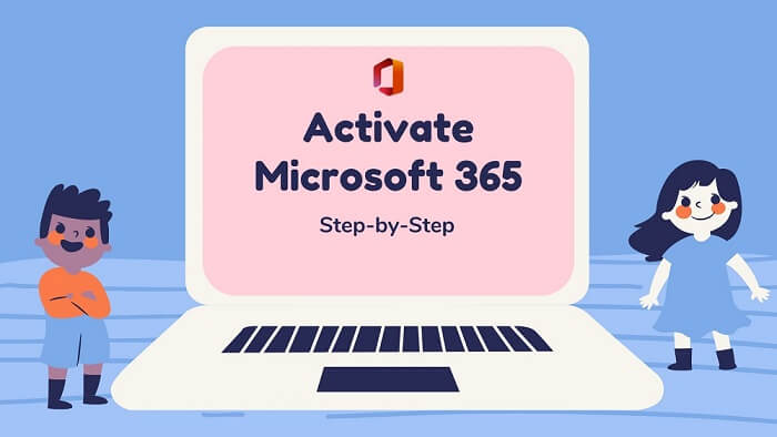 steps to activate microsoft 365
